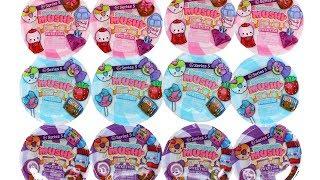 Серія Муші Друзяшками Smooshy 5 Цукерок Рукою Squishies Сліпа Коробка Розпакування Іграшки Огляд