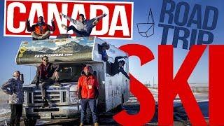 Ski Canada - PLRVT #9 / Road Trip Ski Au Canada ( avec un invité surprise )