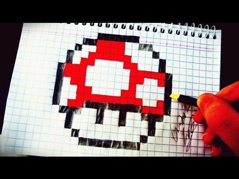 Como Desenhar o Super Cogumelo do Mario - (How to Draw Super Mushroom) - SLAY DESENHOS #70