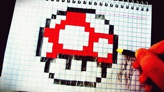 Como Desenhar o Super Cogumelo do Mario - (How to Draw Super Mushroom) - SLAY DESENHOS #70