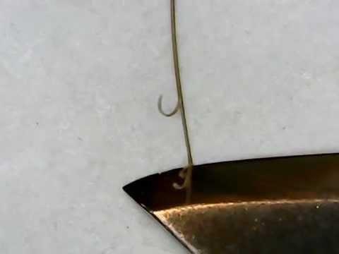 Заточка ножа до строгания волоса