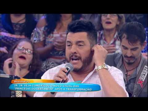 Chitãozinho E Xororó E Bruno E Marrone Cantam Evidências No Programa
