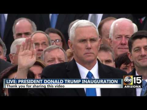 FULL: Vice President Mike Pence being sworn in - President Donald Trump inauguration