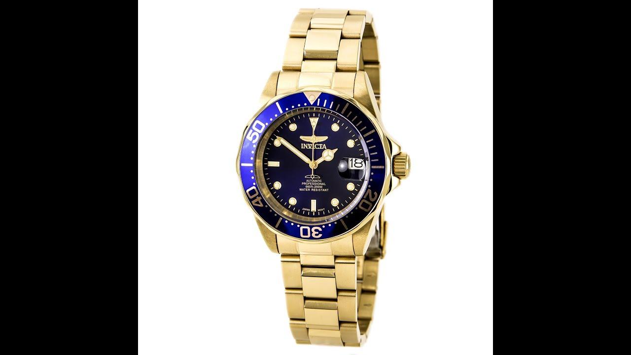 invicta 8930c invicta 8930c s pro diver blue gold