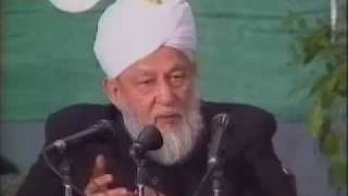 Question and answer Hazrat Mirza Tahir Ahmad.