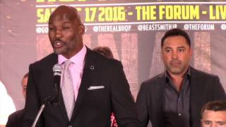BERNARD HOPKINS GETS PASSIONATE AHEAD OF HIS LAST EVER FIGHT AGAINST BIG PUNCHING JOE SMITH JR