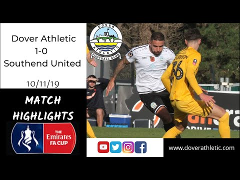 Highlights: Dover Athletic 1-0 Southend United