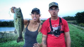 BF vs. GF Fishing Challenge.. (Loser Jumps In)