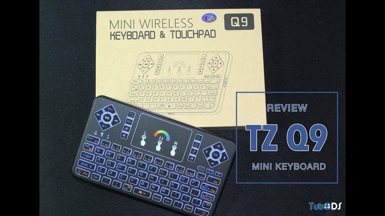 cca45bb0db1 TZ Q9 - Mini Keyboard com iluminação RGB por 15$! - YouTube