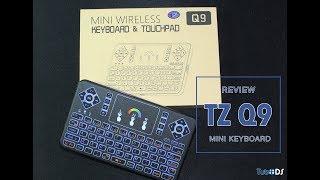 TZ Q9 - Mini Keyboard com iluminação RGB por 15$!