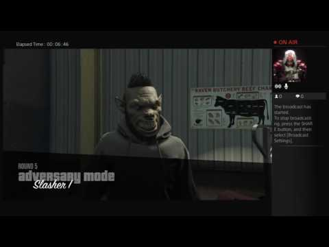 Gta5 - Funny/scary moment slasher