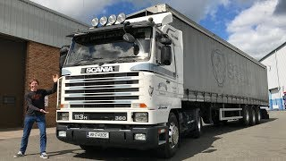 1995 SCANIA 113 H (23 Year's on!!) Full Tour & Test Drive
