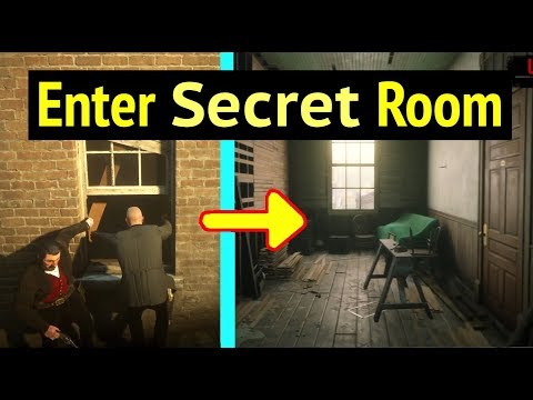 Explore Hideout Room in Red Dead Redemption 2 (RDR2): Enter Window of Hidden Room in Hotel Chevalier thumbnail