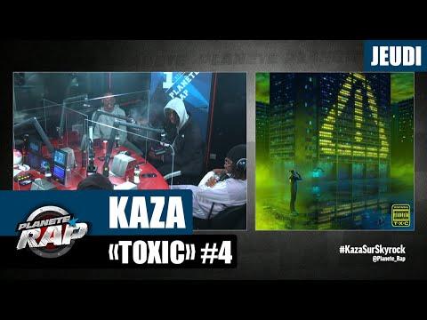 Youtube: Planète Rap – Kaza«Toxic» avec Kepler, Dyraan, Rence T, Negredo, Gringo et Orphée La Fine #Jeudi