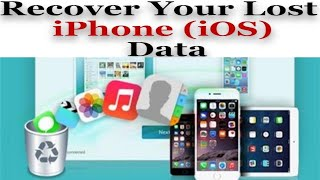 How to Recover Your iPhone Lost or Deleted Data | Easy to Recover your File/Data | Review Again 2019