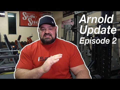 Arnold 2018 | Episode 2 | EVENTS AND COMPETITORS REVEALED | Brian Shaw