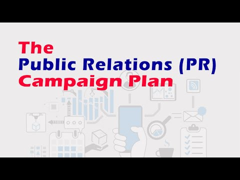 The PR Campaign Plan