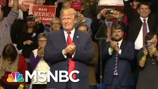 Trump's Red State Presidency Leaves U.S. Without Unifying Leadership | Rachel Maddow | MSNBC