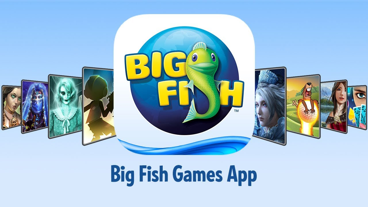 Big Fish Games App   YouTube Big Fish Games App