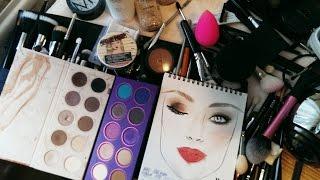 Базовый набор косметики визажиста :) Детальный разбор ! Мои MUST HAVE!