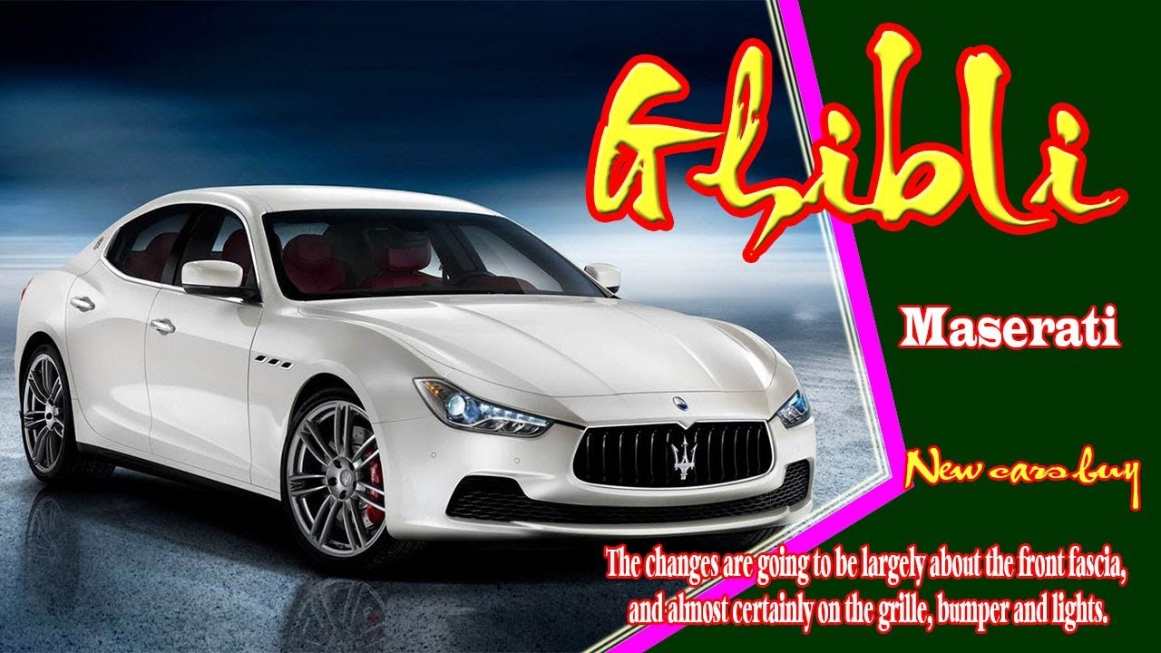 2019 Maserati Ghibli 2019 Maserati Ghibli Gransport 2019