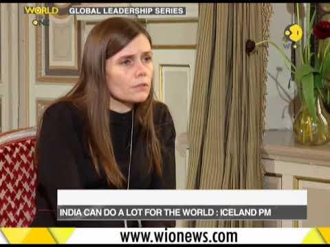 Iceland PM Katrín Jakobsdóttir speaks to WION