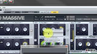 MIDI CC w/ Native Instruments MASSIVE in Studio ONE