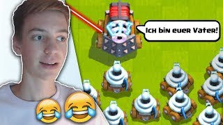 Ich bin euer Vater... 😂 (Clash Royale Funny moments!)