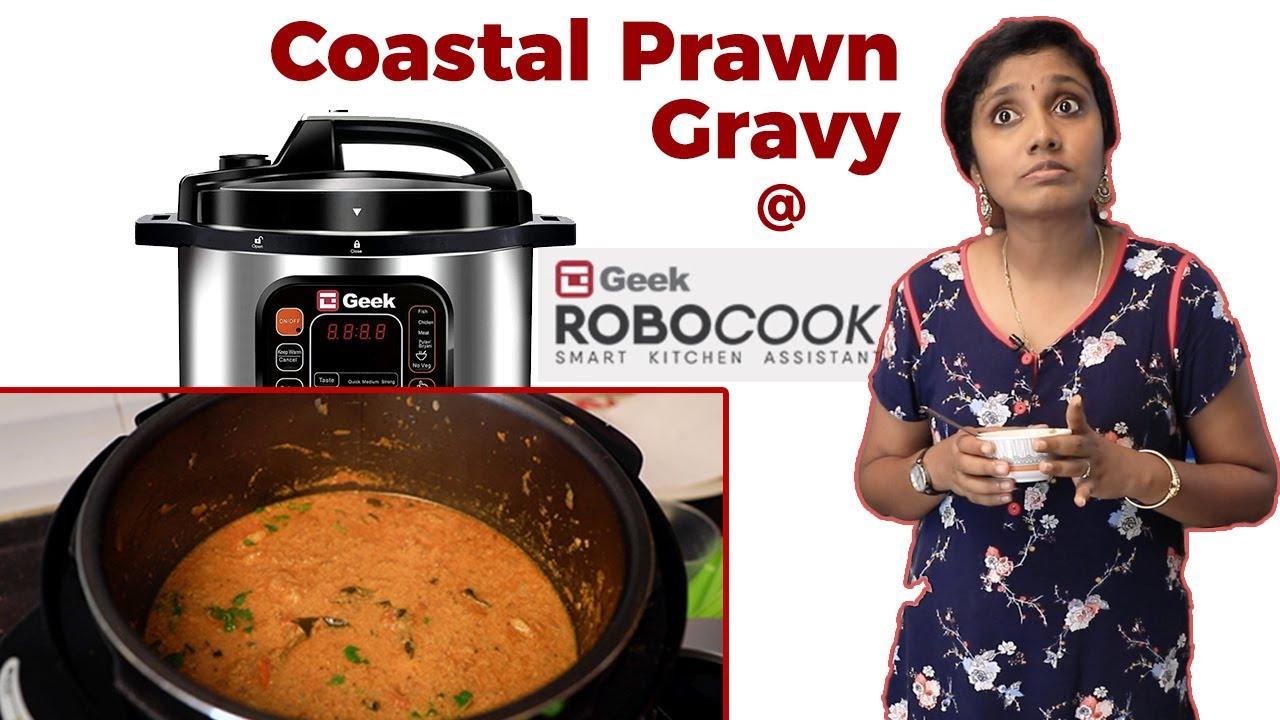 Coastal Prawn Gravy I Geek Robo cook | Tastee with Kiruthiga