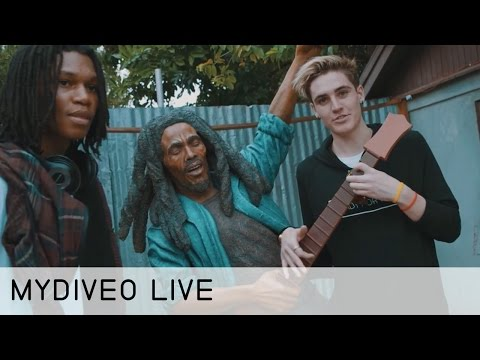 Sammy Wilk's Reggae Inspiration and How He Creates His Music - mydiveo LIVE! on Myx TV