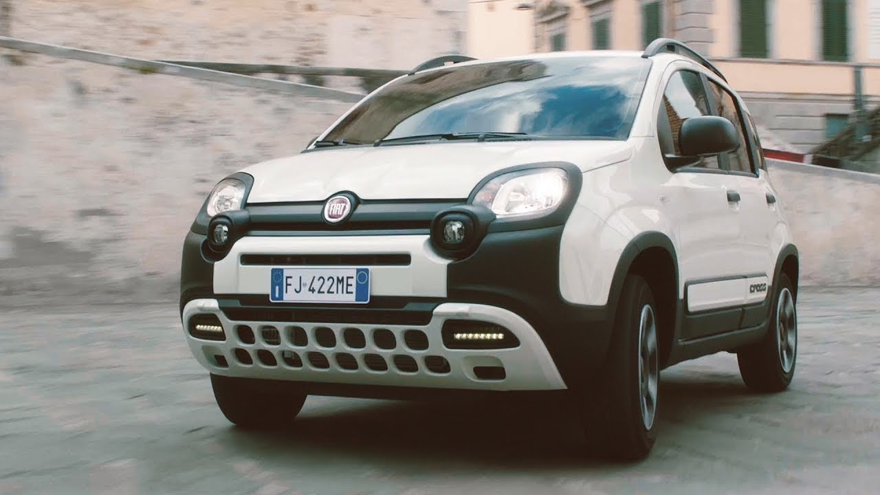 2017 fiat panda city cross 4x2 and panda cross 4x4 youtube. Black Bedroom Furniture Sets. Home Design Ideas