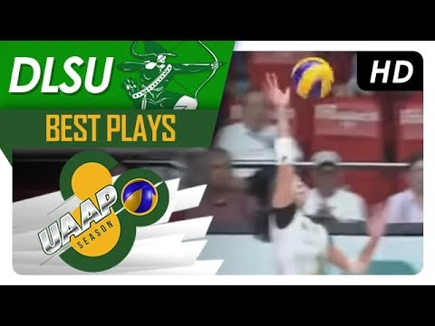 UAAP 80 WV: Des Cheng outsmarts the FEU defense with a crafty off speed hit! | DLSU | Best Plays