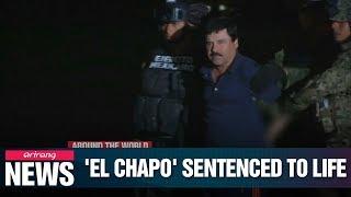 Mexican drug lord Joaquin 'El Chapo' Guzman sentenced to life in U.S. prison