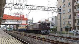 【JR東日本】クモユニ転属回送!EF64 37+クモユニ143 土呂通過