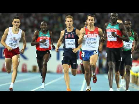David Lekuta Rudisha of Kenya Sets World Record in 800m , 1: 40. 91sec