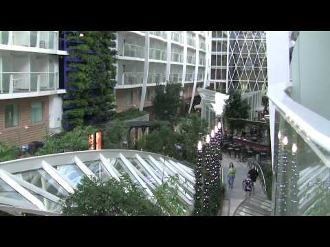 Oasis of the Seas - Onboard the ship Central Park Area