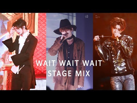 [TTK] 蔡徐坤 Cai XuKun 《Wait Wait Wait》Stage Mix 10 in 1