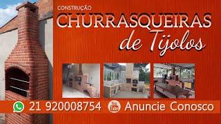 Churrasqueira com forno e fogão de Tijolo no Rio de Janeiro
