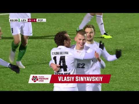 Levadia Tallinn Flora Tallinn Goals And Highlights
