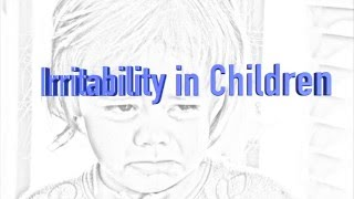 Webinar: Severe Irritability and DMDD in Youth -- Dr. Kenneth Towbin