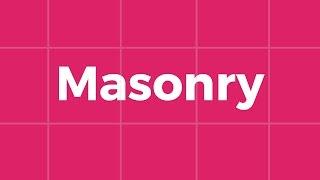 Masonry — создание адаптивных плиток (jquery, masonry, imagesloaded, imagefill, bootstrap, vh)