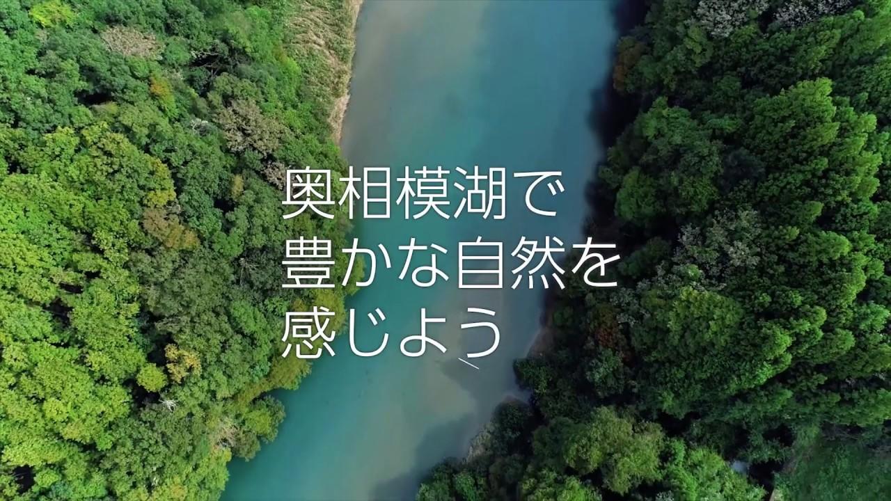 豊かな自然を感じよう 奥相模湖 ショートバージョン