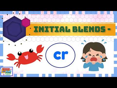 Learning to Read: CR Words!