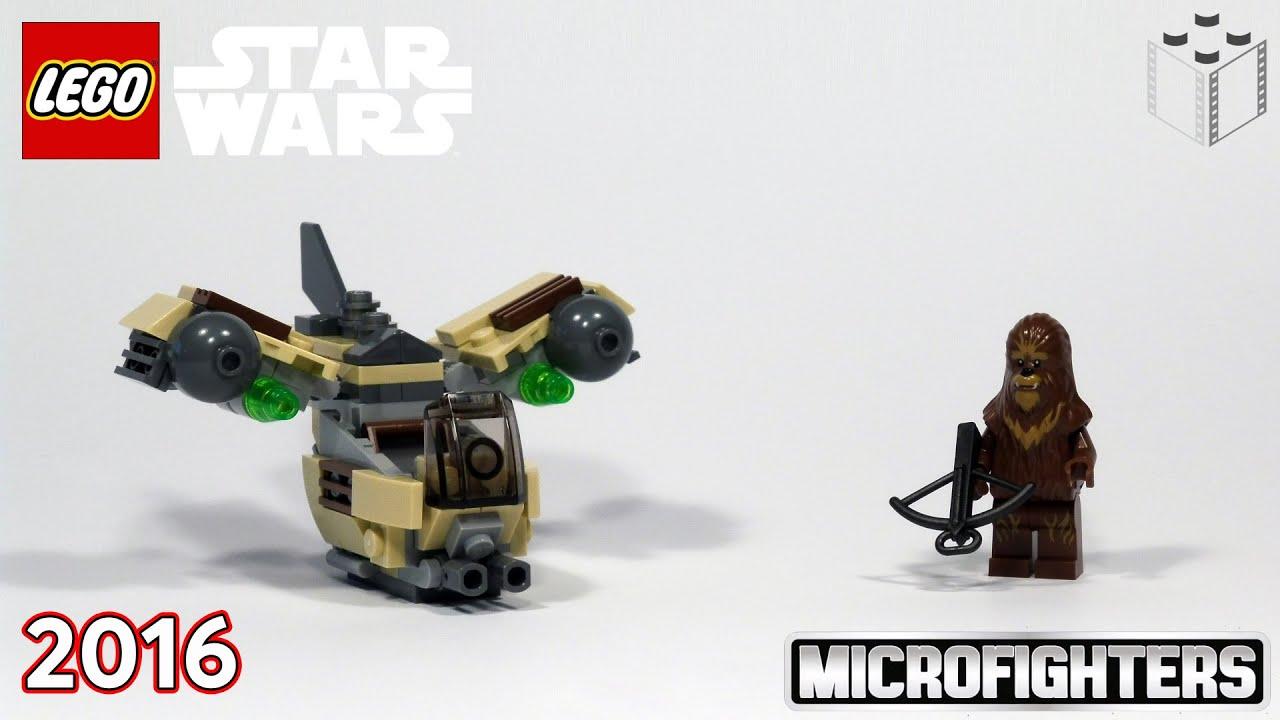 75129 Lego Star Wars Wookiee Gunship Lego Speed Build Youtube