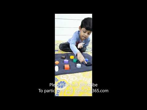 colors & Numbers in 5 languages by 4 years old boy