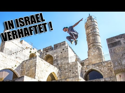 PARKOUR in Jerusalem ft. Jason Paul | VLOG #23