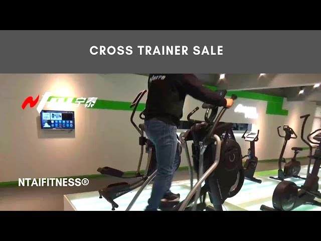 Elliptical Machines & Cross Trainers