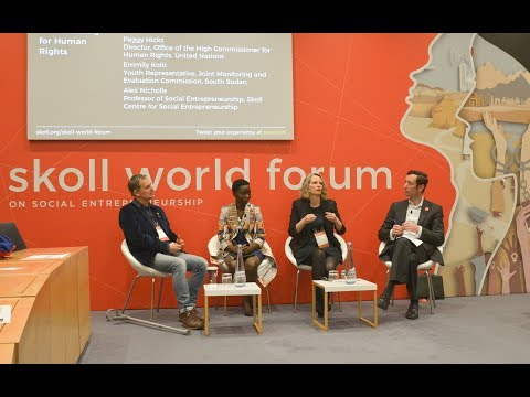 Impact Measurement: Collaborating for Human Rights | SkollWF 2018
