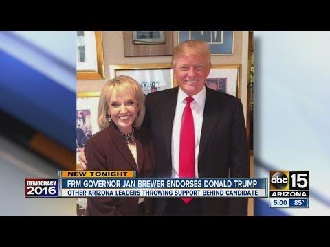 Jan Brewer endorses Donald Trump