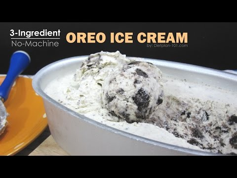No Ingredients On How To Make Ice Cream